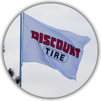 Discount Tire Flag